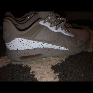 Reflective grey Nike's